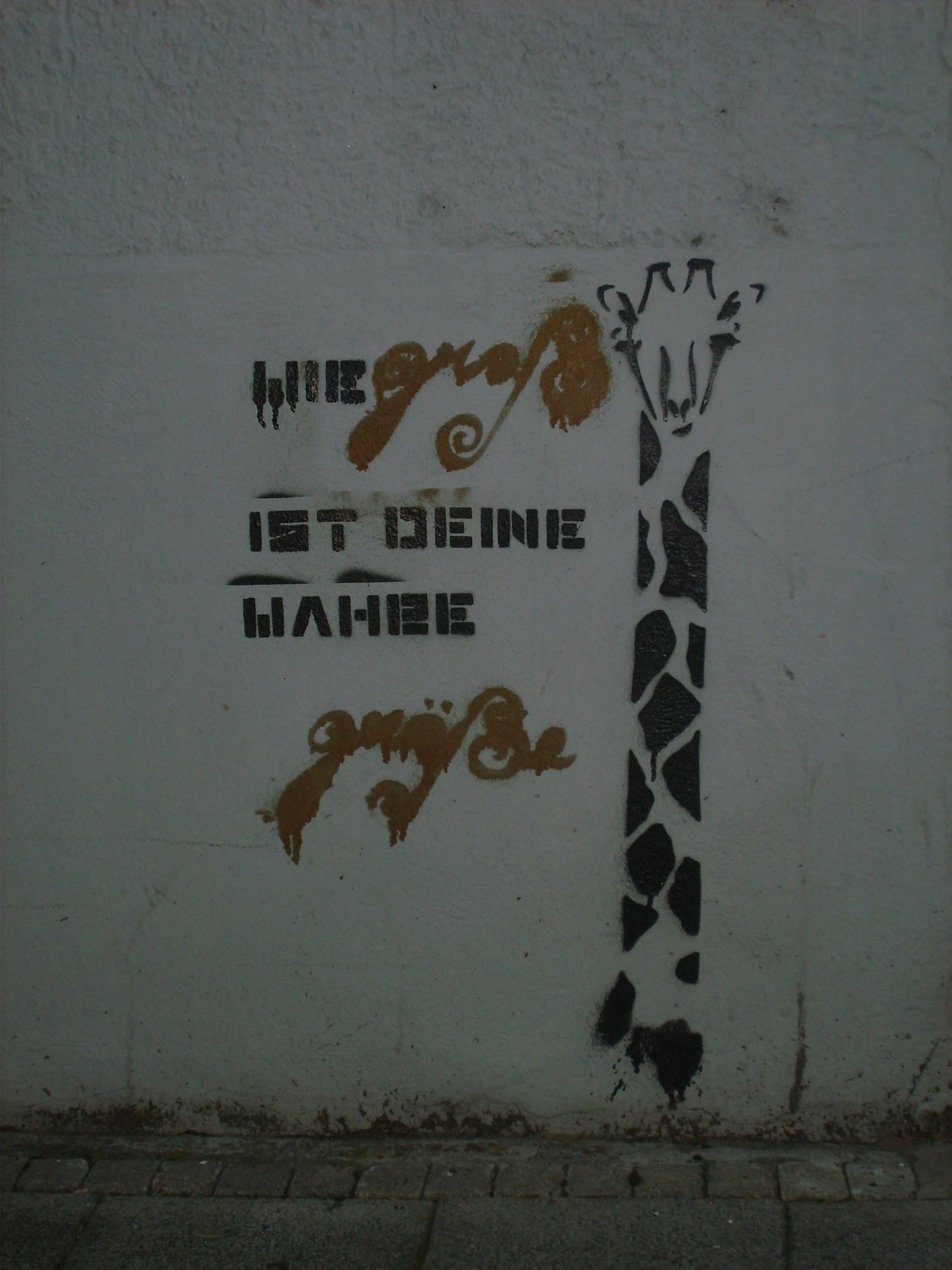Giraffe Putlitzstra�e