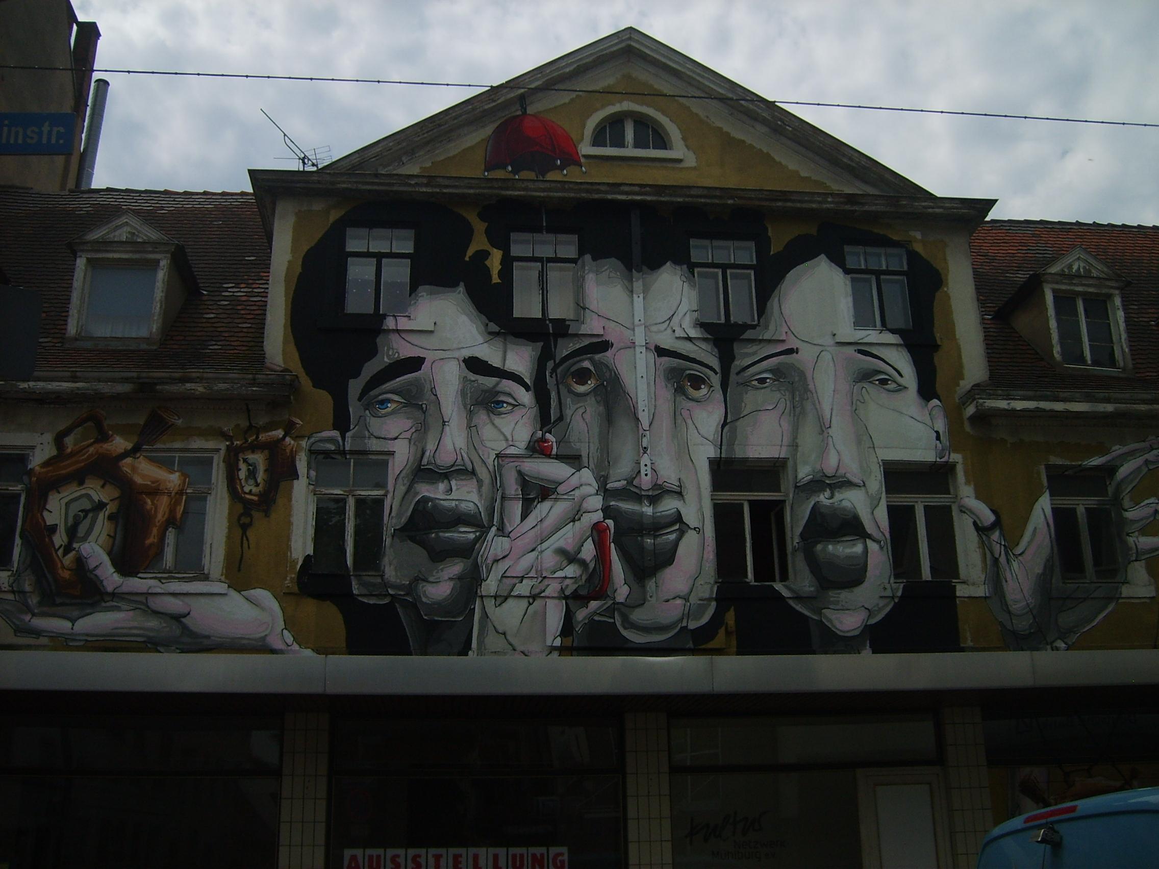 Hausfassade Rheinstra�e